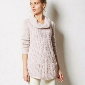 Anthropologie Ginevere Knit Sweater Sz M (P33)